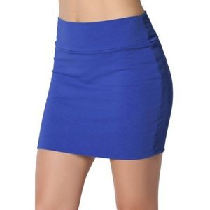 Reserved Europe mini skirt